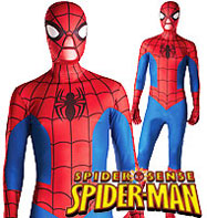 2nd Skin Spiderman - Adult Costume Fancy Dress
