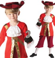Captain Hook - Child Costume Fancy Dress