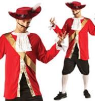 Adult Captain Hook Fancy Dress 40