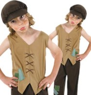 Victoria Urchin - Child Costume Fancy Dress