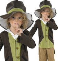 Victoria Urchin Pickpocket - Child Costume Fancy Dress