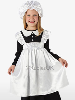 Victorian Maid - Child Costume Fancy Dress
