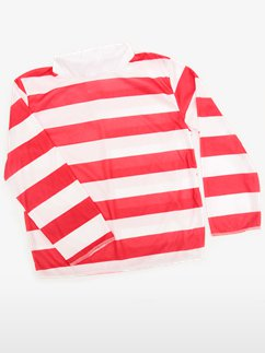 Red/White Striped Top - Child Costume Fancy Dress
