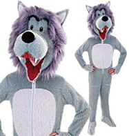 Wolf - Child Costume Fancy Dress