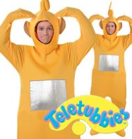 Teletubbies Laa Laa - Adult Costume Fancy Dress