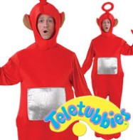 Teletubbies Po - Adult Costume Fancy Dress