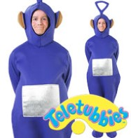 Teletubbies Tinky Winky - Adult Costume Fancy Dress
