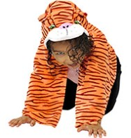 Tiger Cape - Child Costume Fancy Dress