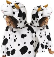 Cow Cape - Child Costume Fancy Dress