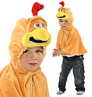 Chicken Cape - Child Costume Fancy Dress