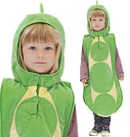 Peapod - Child Costume Fancy Dress