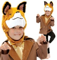 Mr Fox - Child Costume Fancy Dress