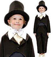Victorian Gent - Child Costume Fancy Dress