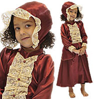Victorian Lady - Child Costume Fancy Dress