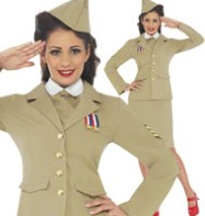 Retro Officer - Adult Costume Fancy Dress