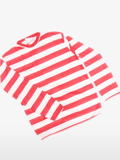 Striped Shirt Red/White