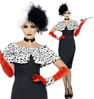 Evil Madame - Adult Costume Fancy Dress