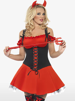Wicked Devil - Adult Costume Fancy Dress