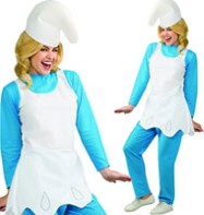 Smurfette - Adult Costume Fancy Dress