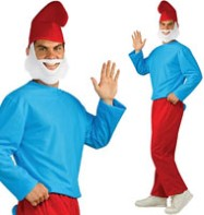 Papa Smurf - Adult Costume Fancy Dress