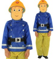Fireman Sam - Child Costume Fancy Dress