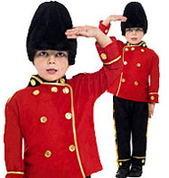Fancy Dress - Boys Busby Guard