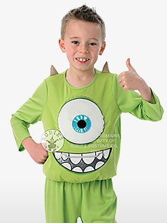 Monsters University Mike Deluxe - Child Costume Fancy Dress