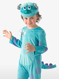 Monsters University Sulley Deluxe - Child Costume Fancy Dress