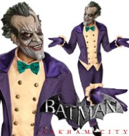 Arkham Joker - Adult Costume Fancy Dress
