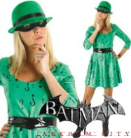 Classic Riddler - Adult Costume Fancy Dress