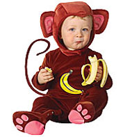 Baby Monkey - Infant Costume Fancy Dress