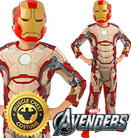 Fancy Dress - Boys Iron Man 3 Deluxe