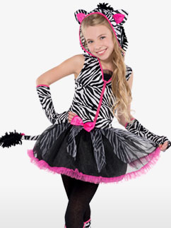 Sassy Stripes - Child and Teen Costume