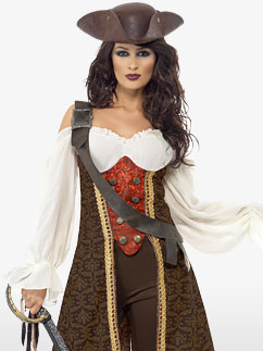 High Seas Wench - Adult Costume Fancy Dress
