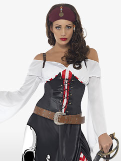 Sultry Swashbuckler - Adult Costume Fancy Dress