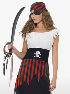 Pirate Wench - Adult Costume Fancy Dress
