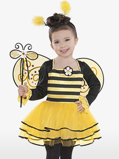 Ballerina Bee - Child Costume Fancy Dress
