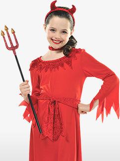 Lil' Devil - Child Costume Fancy Dress