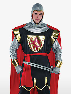 Brave Crusader - Adult Costume Fancy Dress