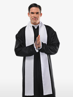 Holy Father - Adult Costume Fancy Dress
