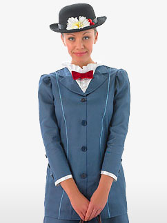 Mary Poppins - Adult Costume Fancy Dress