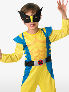 Wolverine Classic - Child Costume Fancy Dress