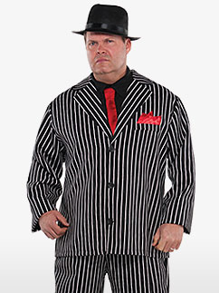 Mob Boss Plus Size - Adult Costume Fancy Dress