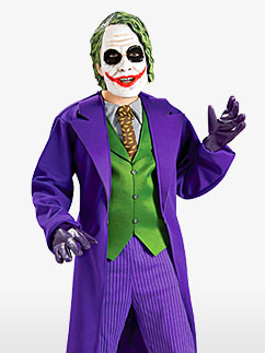 Deluxe Joker - Child Costume Fancy Dress