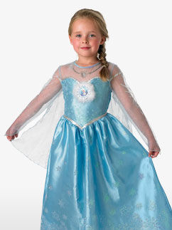Elsa Deluxe - Child Costume Fancy Dress