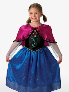 Anna Deluxe - Child Costume Fancy Dress
