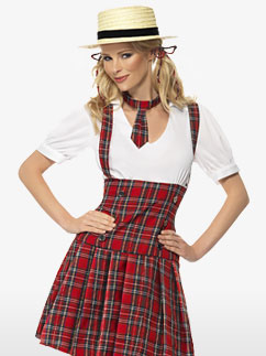 School Girl - Adult Costume