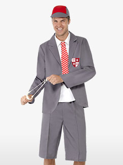School Boy - Adult Costume