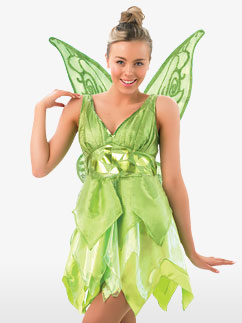 Tinkerbell - Adult Costume Fancy Dress
