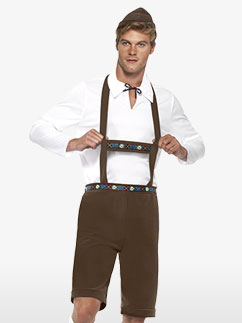 Bavarian Man - Adult Costume Fancy Dress